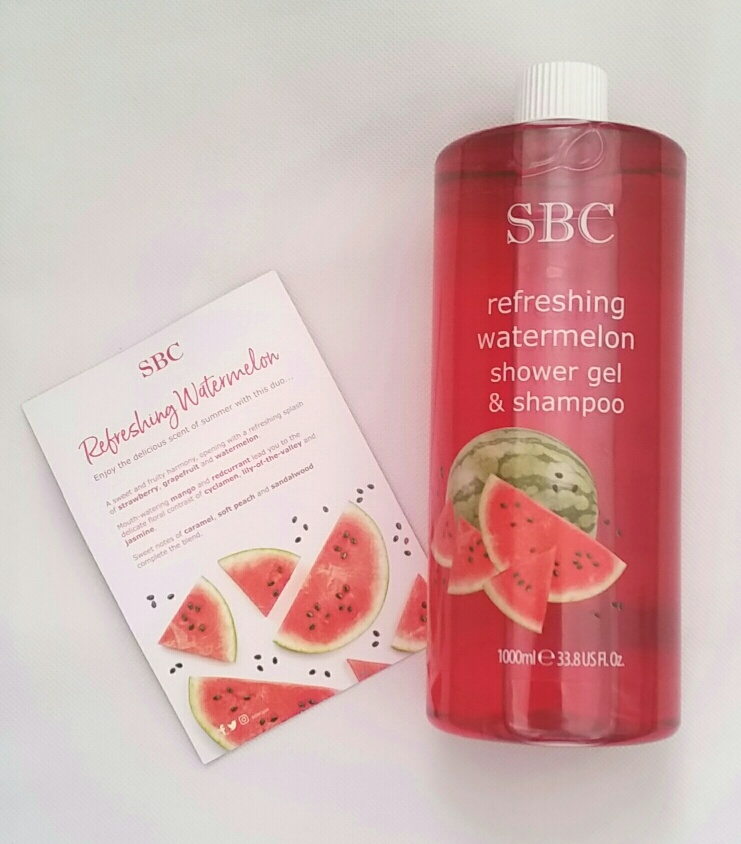 SBC's Refreshing Watermelon Shower Gel & Shampoo